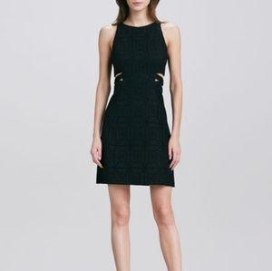 Nanette Lepore Black Cutout Mediterranean Dress